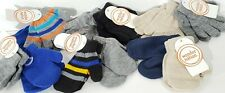 Winter Toddler Small Kid's Boys Knit Gloves & Mittons Lot Of 6 Packs - 12 Pairs