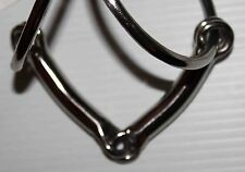 "New KMSS Crockett 5"" Arched  Mouth Snaffle Bit English, Western, Dressage"
