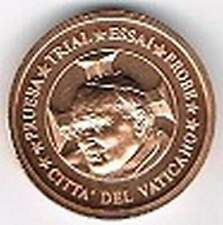 Vaticaan 2002 (Gr) probe-pattern-essai - 5 eurocent - Paus Johannes Paulus II