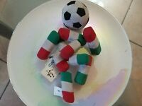 MASCOTTE PELUCHE CIAO UFFICIAL ITALIA 90 WORD WIDE EXVLUSIVE OFFICIAL LICENSEE