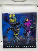 "KENNER 1:6 Legends of Batman, BATMAN VS. CATWOMAN 12"" Action Figure Set MIB 1996"
