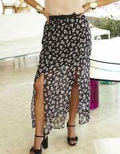 Chiffon Full Length Skirts Plus Size for Women