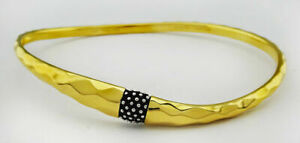 MICHAEL DAWKINS Sterling Silver Starry Night Bangle** NEW WITH TAG ***