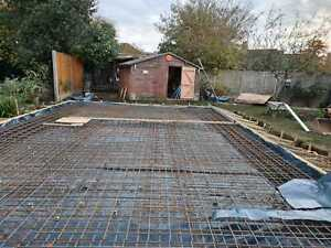 Concrete Raft foundation reinforcement Cages made and delivered
