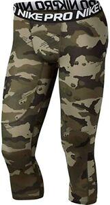 Nike 3/4 camo leggings mens XL