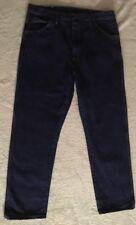 Mens 38X32 Legendary Gold Dark Blue Jeans