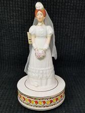 Vintage Schmid Musical Bride Figurine