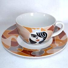 Ritzenhoff Amore Mio Coffee Cup & Saucer Cappuccino Princess Design T Marutschke