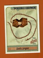 2019 Topps Allen & Ginter Incredible Equipment David's Slingshot IE-6