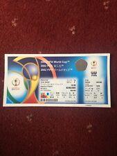 Genuine 2002 World Cup FULL Ticket, Match 7, Argentina v Nigeria, 2/6/2002