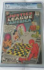 Justice League of America #1, (1960), Marvel, CGC 1.5