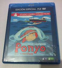 PONYO EN EL ACANTILADO - STUDIO GHIBLI COLLECTION -ED ESPECIAL BLURAY + DVD NEW
