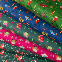 Baumwolle Mix Deko Möbel Patchwork Stoffe Vorhang Kinder Jugend Zimmer Tiere