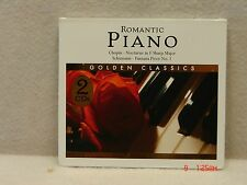 CD  2 Disc Set  Romantic Piano - Golden Classics