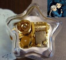 STAR SHAPE WIND UP MUSIC BOX : Ghibli Howl's Moving Castle Soundtrack