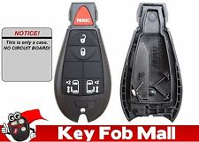 NEW Keyless Entry Key Fob Remote 5 BUTTON CASE ONLY For 2014 Dodge Grand Caravan