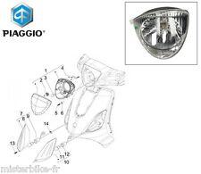 Phare Optique Optic Projecteur d'origine Piaggio : 51878R Piaggio Liberty 50 125