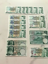 More details for royal bank of scotland £1 banknotes x17