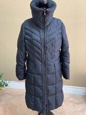 COLE HAAN BLACK QUILTED DOWN PUFFER COAT JACKET women's SZ XL Euc