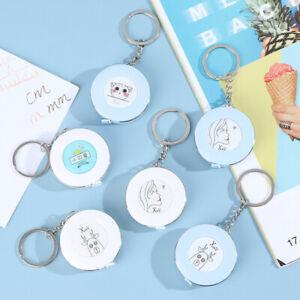 Tape Measure Portable Retractable Ruler Keychain Children Height Ruler Roll SJ