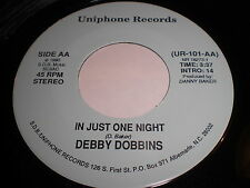 Debby Dobbins: In Just One Night / Highway 17 (Gonna Move It) 45 - Soul
