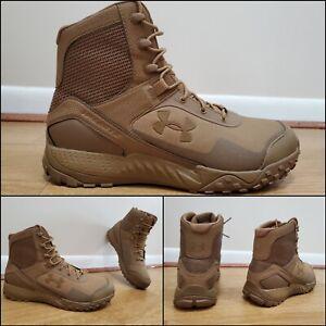 Under Armour UA Valsetz RTS 1.5 Boots Coyote Brown 3021034-200 Men's Size 12.5