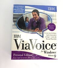 IBM ViaVoice for Windows Release 9 Personal Edition Software