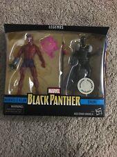 New Hasbro Marvel Legends Black Panther Klaw & Shuri Pack Sealed Toys R Us TRU