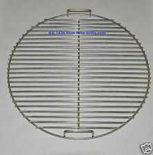 """21.5"""" Round BBQ Stainless Grill Cooking Grate-  KG 7435 Weber replacement"""