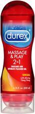 Durex Massage & Play 2 in 1 Sensual Ylang Ylang - 6.76 Fl. Oz. / 200 ml