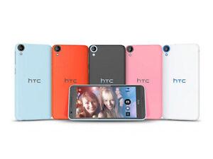"HTC Desire D820us White 5.5""  Multi Language Dual SIM 16GB 13MP 4G&3G Octa Core"