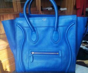 Original Celine Tasche  luggage Mini guter Zustand Blau