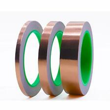 Copper Foil Tape 3 Pack 1inch 12inch 14inch X 66ft With Conductive Adhesive