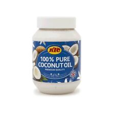 KTC 100% Pure Coconut Oil 500ml - No Added Ingredients For Vegans & Vegetarians