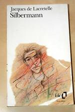 SILBERMANN,JACQUES DE LACRETELLE,GALLIMARD-FOLIO-1994