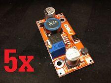 5 Pieces LM2577 DC 3~34V to 4~60V 5-12V Boost Converter Voltage Regulator step
