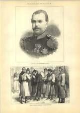 1881 Alexander Iii New Emperor Russia Political Prisoners Railway Station