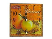 Tischuhr aus Glas *Stilleben* 15x15 cm Uhr - 20405