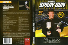 AIRBRUSH ACTION DVD - DEVILBISS SPRAY GUN HANDLING TECHNIQUES - BRIAN LYNCH