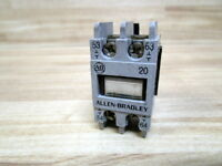 Allen Bradley 195-FA20 Auxiliary Contact 195FA20 Series A (Pack of 7)
