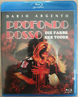 Profondo Rosso - Die Farbe des Todes Bluray Blu-ray Uncut Top Zustand Condition