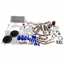 CX Turbo Header Manifold Downpipe Intercooler Kit for 05-14 Ford Mustang 4.6L V8