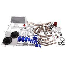 Cxracing Turbo Header Manifold Intercooler Kit For 05 14 Ford Mustang 46l V8