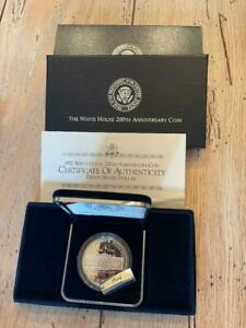 1992 US Mint PROOF White House 200th Anniversary Coin Set COA