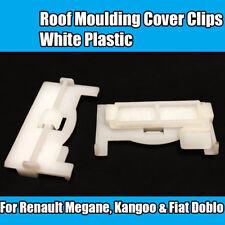 02081620, 14592387 Renault Clio Megane Scenic 10x Roof Trim Retainer Clips