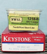 Keystone Loco Works #HO-105 Shay Locomotive Kit