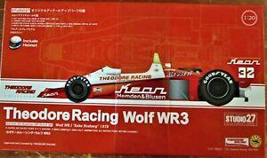 MODEL KIT: 1/20 S27/ 1978 KEAN TAMIYA WOLF WR1 ROSBERG