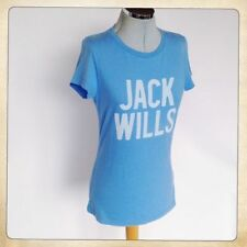 Jack Wills Cotton Patternless Graphic T-Shirts for Women