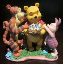RARE Disney Winnie the Pooh Tigger Piglet Baby Birds Scene Figure Statue Display