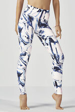 Fabletics H/Waisted PowerHold Legging Size 22/24 BNWT RRP £84.95 Frosted Marble